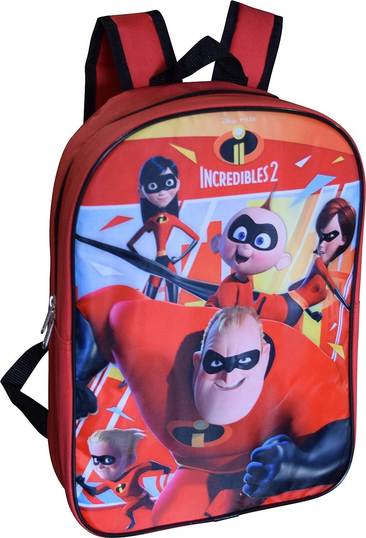 """Disney Pixar The Incredibles 2 Boys Toddler School Backpack Book Bag Mini 12/"""""""