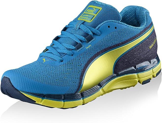 Puma Faas 600 V2 5 - Zapatillas Deportivas (Talla 46,5), Color Azul y Verde Lima: Amazon.es: Zapatos y complementos