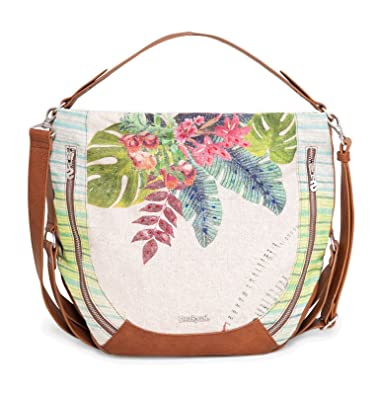 Beige Couleur U Taille Fly Sac Tropical Desigual xwn7fqYWRP