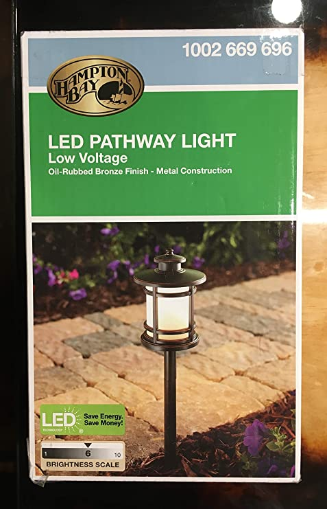Amazon Com Home Depot Hampton Bay Low Voltage Led Pathway Light Garden Outdoor