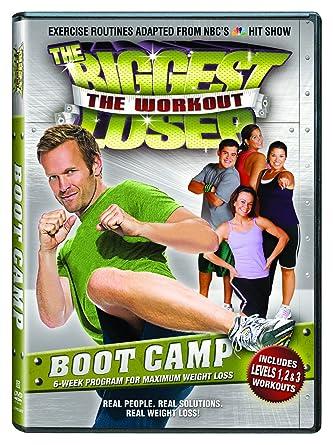 Amazon Com Biggest Loser Boot Camp Dvd Bob Harper Cal Pozo
