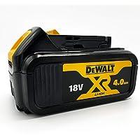 DeWalt Reserveaccu 18,0 volt/4,0 Ah XR Li-Ion (compatibel met alle 18,0 volt XR accumachines van DeWalt, led-accu…