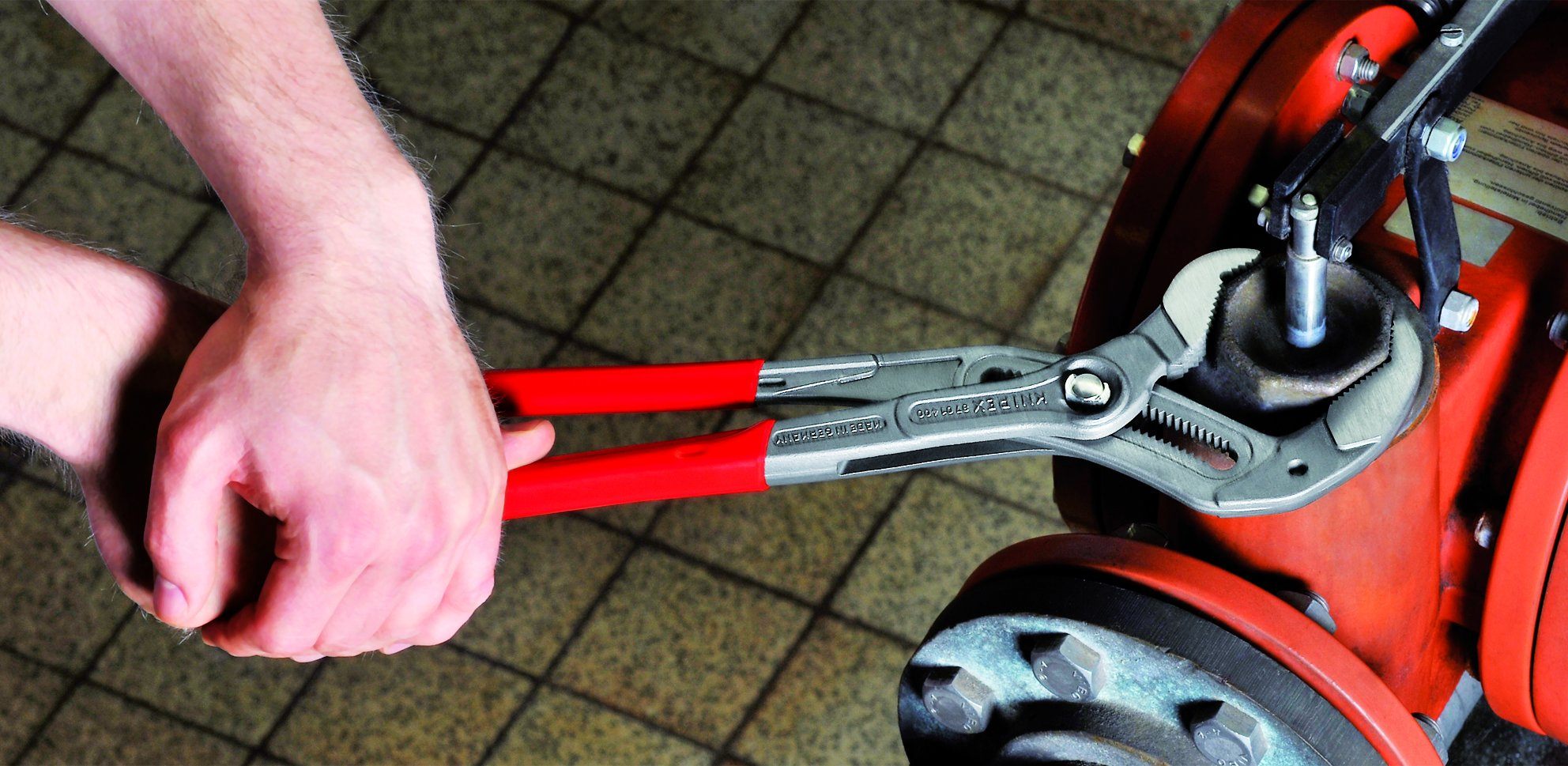 Knipex 8701400 16-Inch Cobra Pliers by KNIPEX Tools (Image #2)