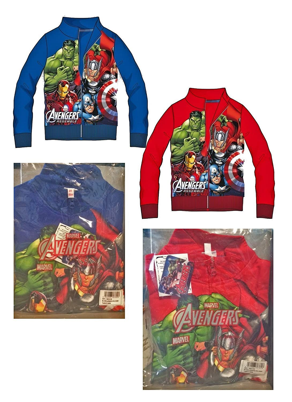Marvel Avengers Felpa con Zip