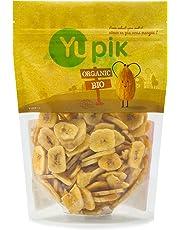 Yupik Organic Sweetened Banana Chips, 0.40Kg