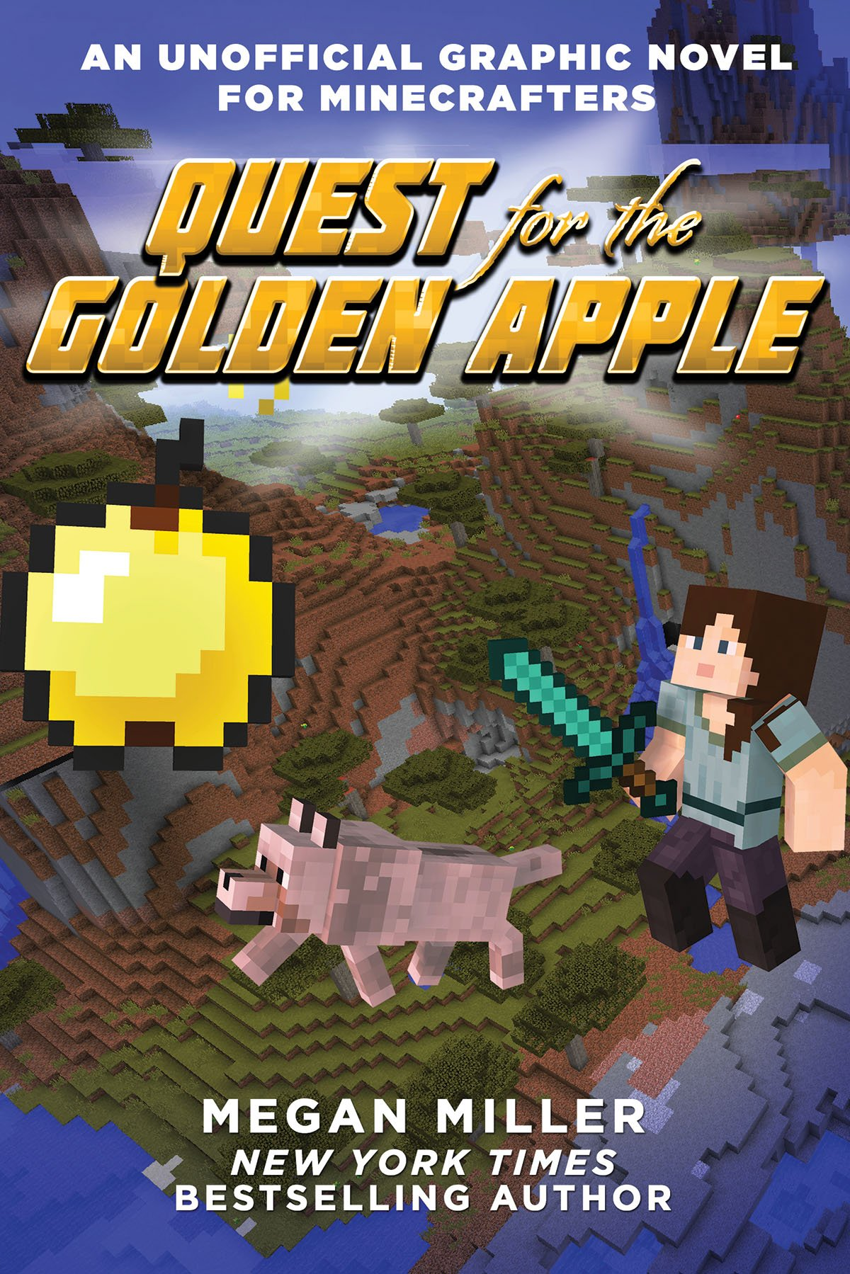 Quest for the Golden Apple: An Unofficial Graphic Novel for Minecrafters by Sky Pony Press (Image #1)