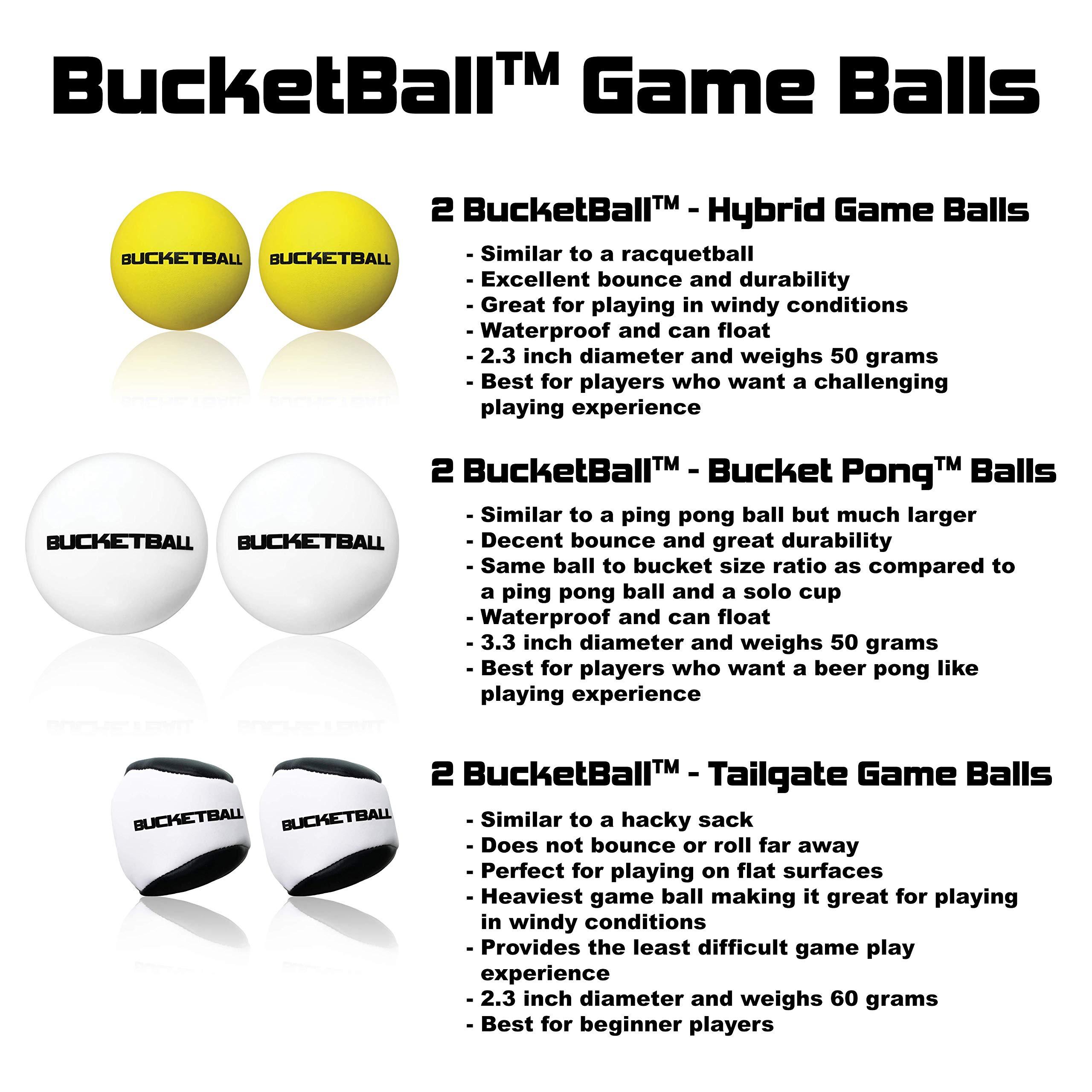 BucketBall Game Ball Pack ...