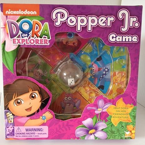 Amazon.com: Dora the Explorer Popper Jr Game Mini Game Trouble Kids ...
