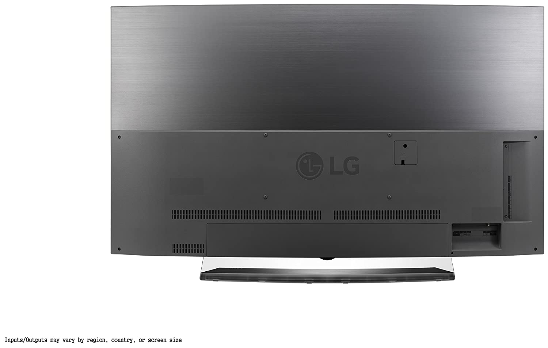 Amazon Com Lg Electronics Oled55c6p Curved 55 Inch 4k Ultra Hd  # Modele Du Porte Tv En Bois