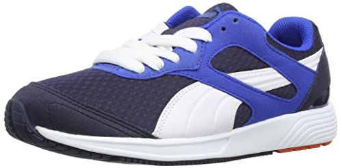6db3ff8516a4 Puma Men s FTR TF-Racer Peacoat-White-Strong Blue Mesh Running Shoes ...
