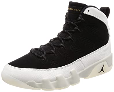 f53a26b9581 Amazon.com | Jordan Men's Air 9 Retro, Black/Summit White-Black ...