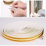 Joint Caoutchouc adhesif autocollant Porte Fenete Blanc Gris Profile D Profile E
