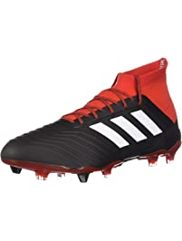 online retailer ccfd9 fcc7e Adidas Mens Predator 18.1 Firm Ground Sneakers