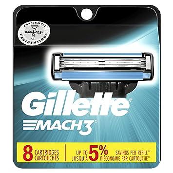 c387fd1870 Amazon.com  Gillette Mach3 Men s Razor Blades