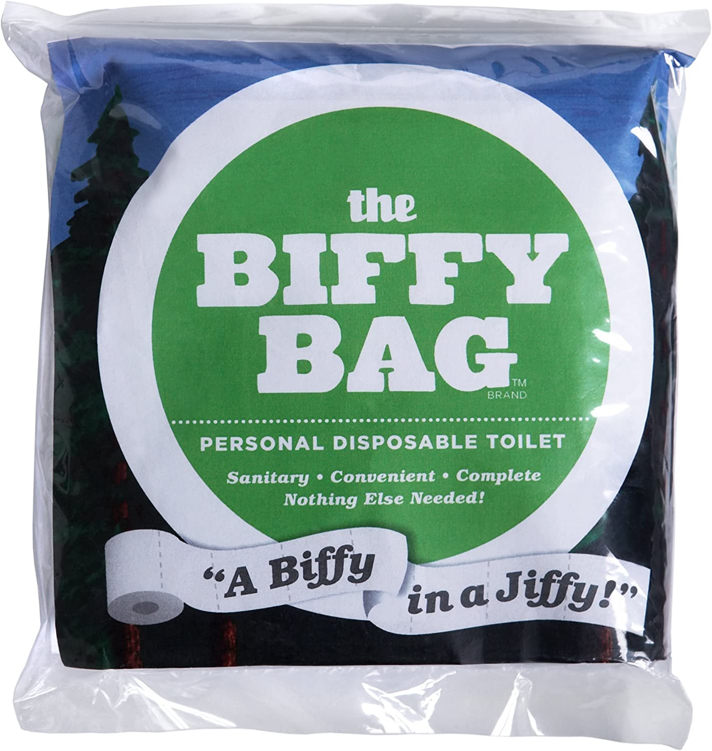 Biffy Bag pocket size disposable toilets Package of 10