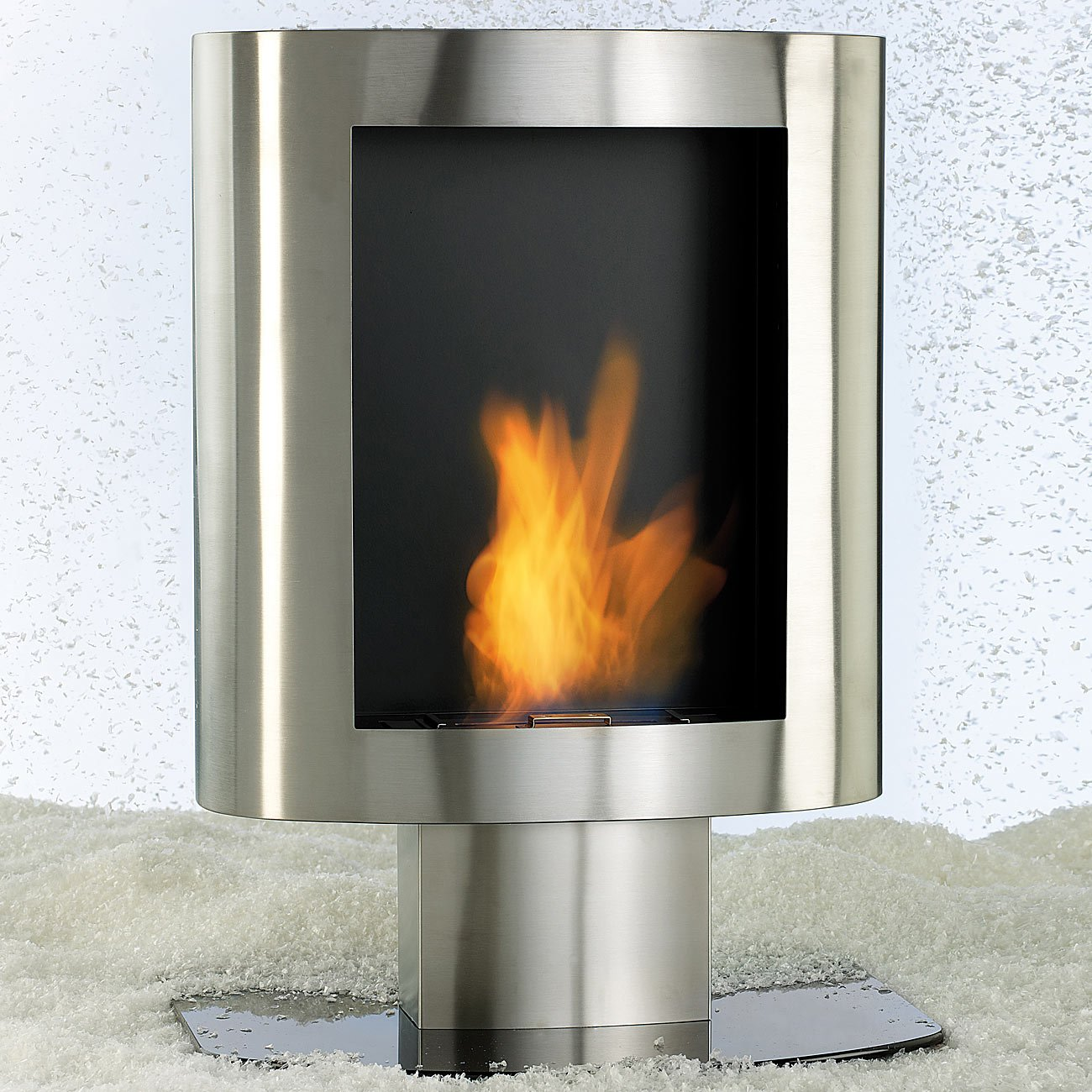 Awesome Carlo Milano Decorative Stove Bio Ethanol Stainless Steel For Wall  And Floor: Amazon.