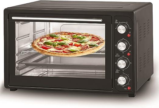 Mini horno (63 L, recirculación Horno, horno de pizza 45 l Negro: Amazon.es: Grandes electrodomésticos