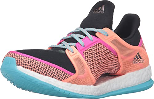 Buy adidas Women's Pure Boost X TR W Training Shoe, Black/Shock ...