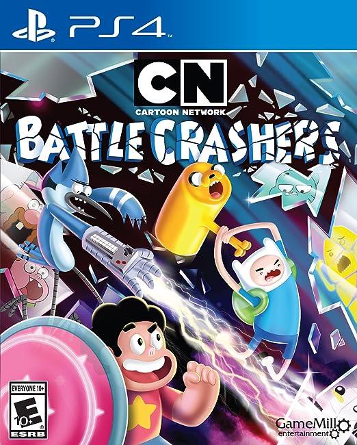 Amazon Com Cartoon Network Battle Crashers Playstation 4 Game Mill Entertainment Video Games