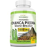 Chanca Piedra 800MG per Tablet - 120 Tablets Kidney Stone Crusher Gallbladder Support Peruvian Chanca Piedra Made in The…