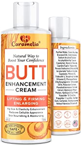 Caramelia Butt Enhancement & Enlargement Cream - Works for Your Buttocks - Butt Becomes Tightened and More Elastic without Injections - Lifts Muscles, Creating Beautiful Picture of Self-Confident Lady