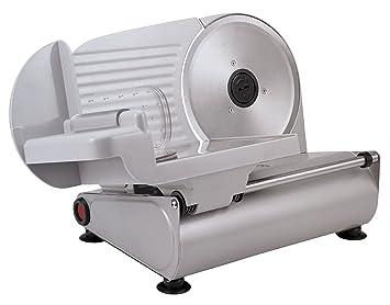 Silva-Homeline AS 520 Allesschneider, kräftige 150 Watt in hochwertiger Metallausführung, rostfreies Edelstahl Universalmesse