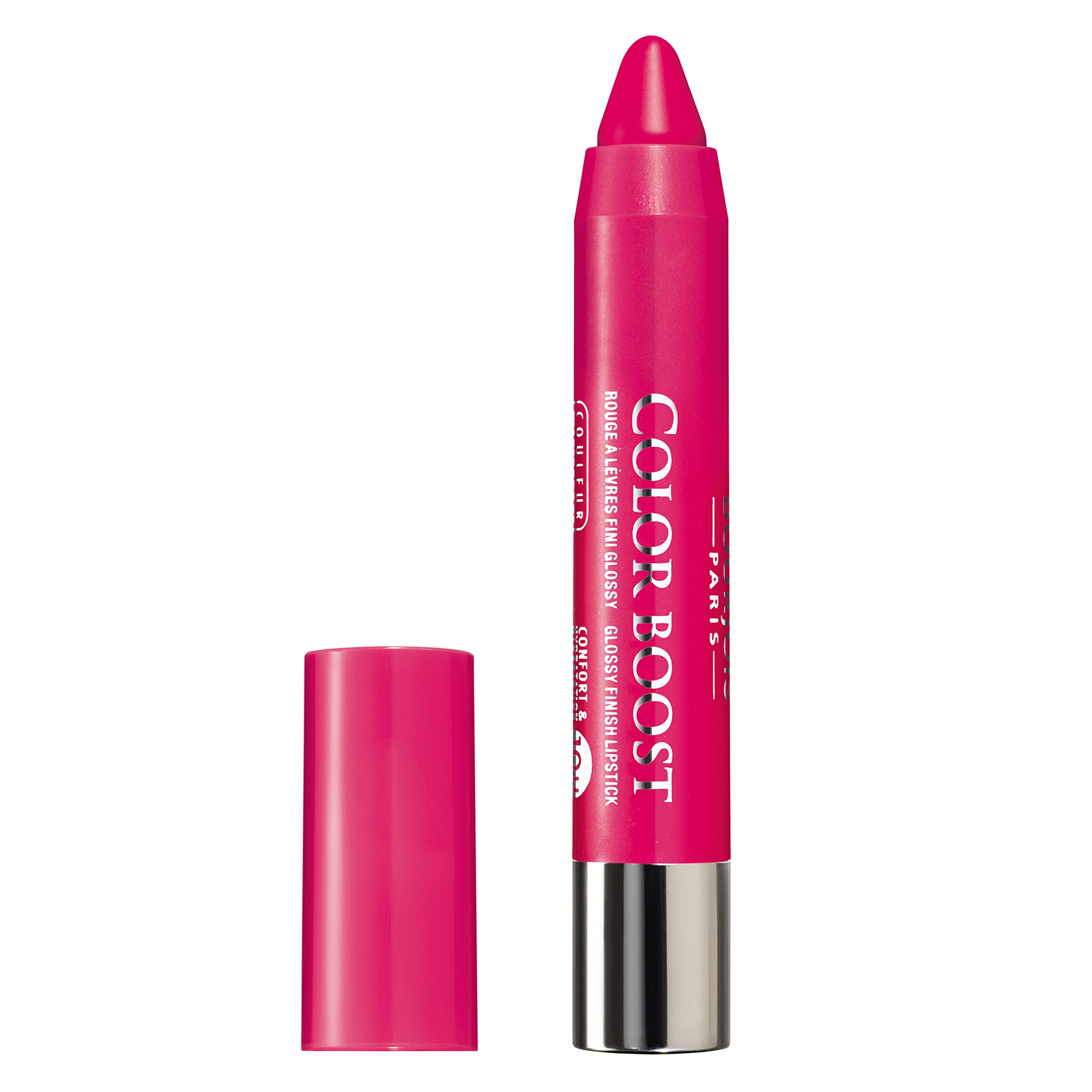 Amazon.com : Bourjois Color Boost Lip Stick Crayon SPF 15 Waterproof ...