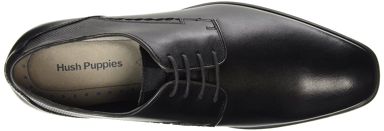 Hush Hush Hush Puppies Leder Kane Maddow schwarz Formelle Schuhe, Arbeit und Uniform Schuhe d9510e