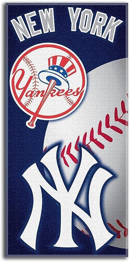 MLB New York Yankees Emblem Beach Towel