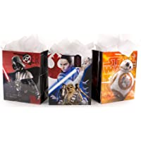 Hallmark Star Wars Large Gift Bag with Greeting Card and Tissue Paper