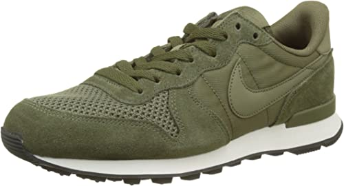 nike internationalist homme vert