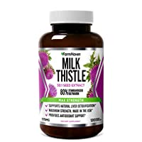 FarmHaven Milk Thistle Capsules | 11250mg Strength | 30X Concentrated Seed Extract...