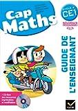 Cap Maths CE1 éd. 2016 - Guide de l'enseignant + CD Rom