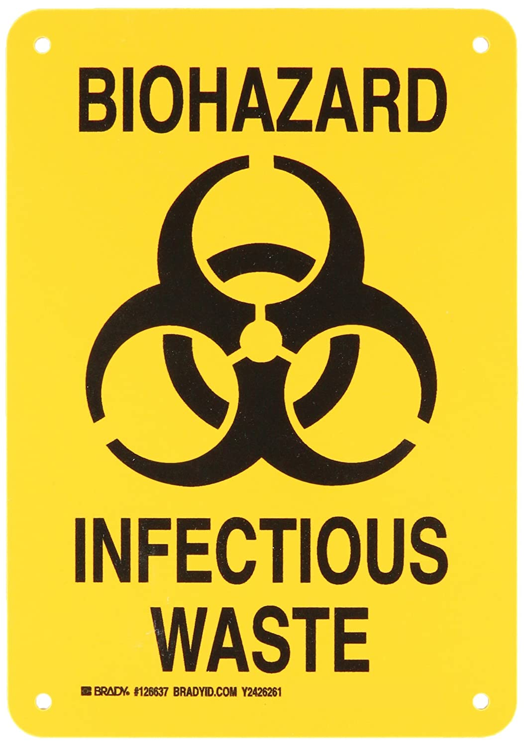 Infectious waste symbol choice image symbol and sign ideas infectious waste symbol image collections symbol and sign ideas brady 126637 biohazard sign legend biohazard infectious biocorpaavc