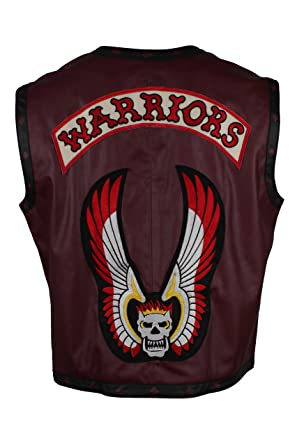 Amazon.com: LeatherArtistics Warriors - Chaleco de estilo ...