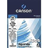 Bloco Aquarela A3 300g/m², Canson, 66667181, 12 Folhas