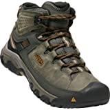 KEEN Shoes Men's Targhee III Mid WP Shoes, Black Olive and Golden Brown