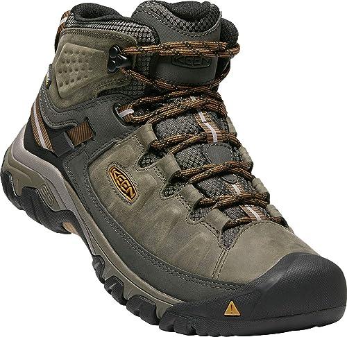 buy popular 4fbde c90a1 KEEN Herren Targhee Iii Mid Wp Trekking- & Wanderstiefel