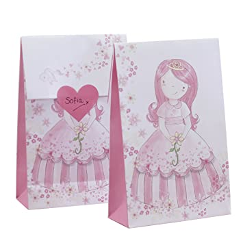 Ginger Ray Prinzessin Pony Party Boxen Pink Partytüten Rose