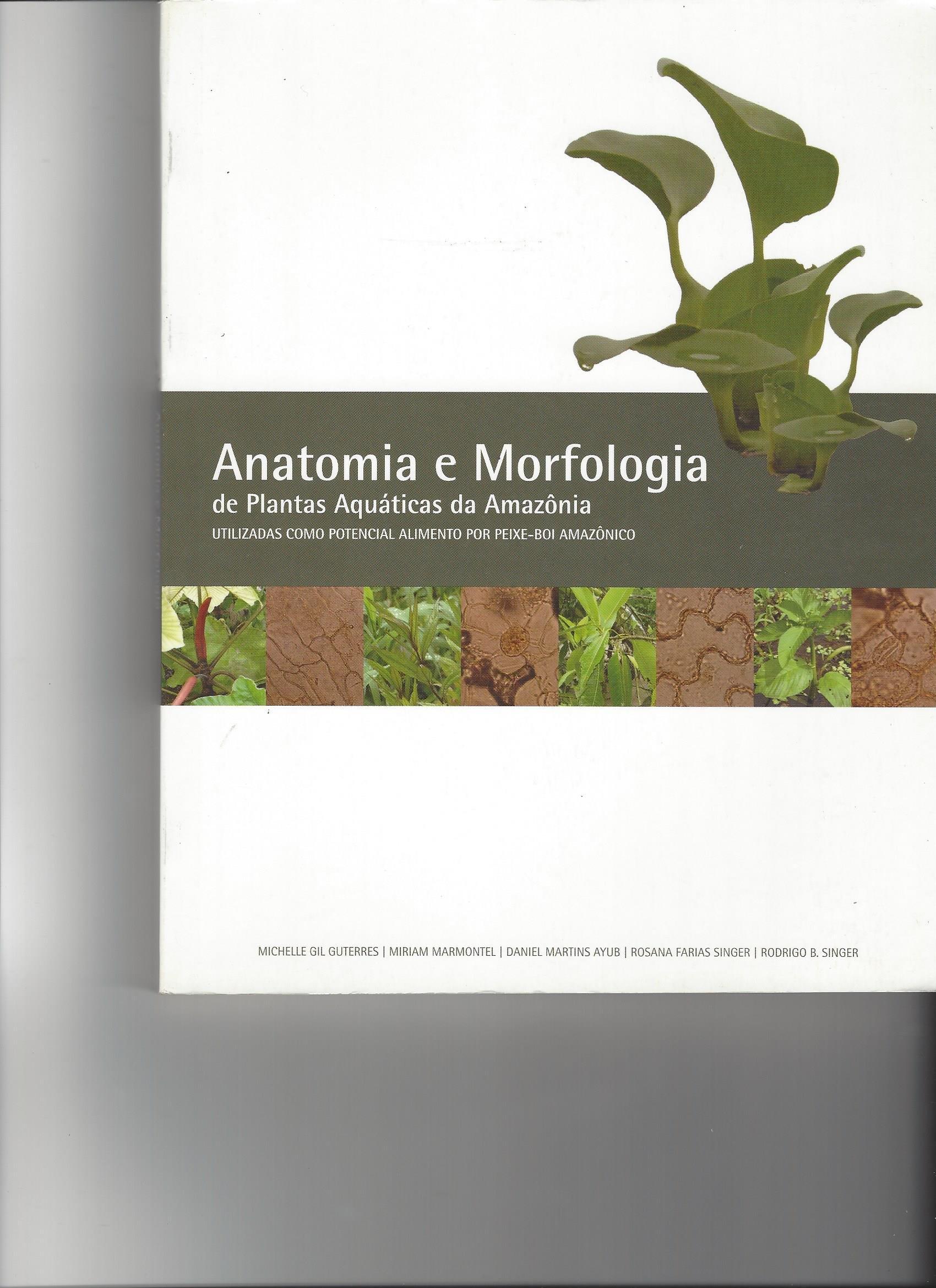 Anatomia e Morfologia des Plantas Aquaticas da Amazonia (Utilizadas ...