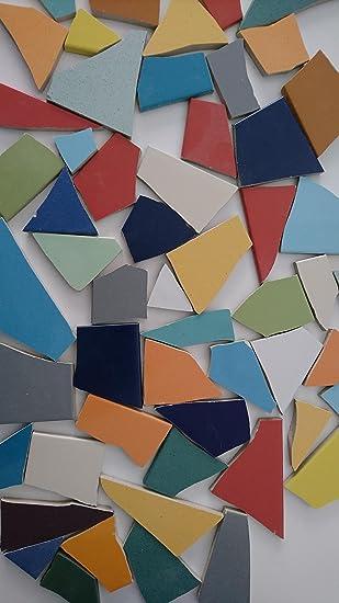 Fliesenbruch Frostfest Mix Bunt Kg Mosaik Amazonde Küche Haushalt - Mosaik fliesen frostfest
