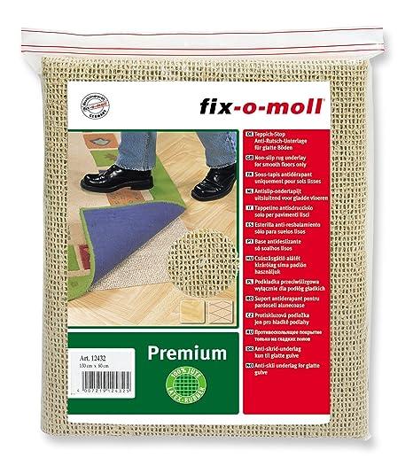 Suki - Esterilla para colocar bajo alfombras (para suelo liso/duro, 130 x