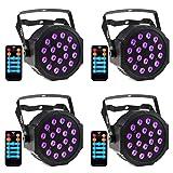 CrtWorld Black Light 18 LED Blacklight With DMX