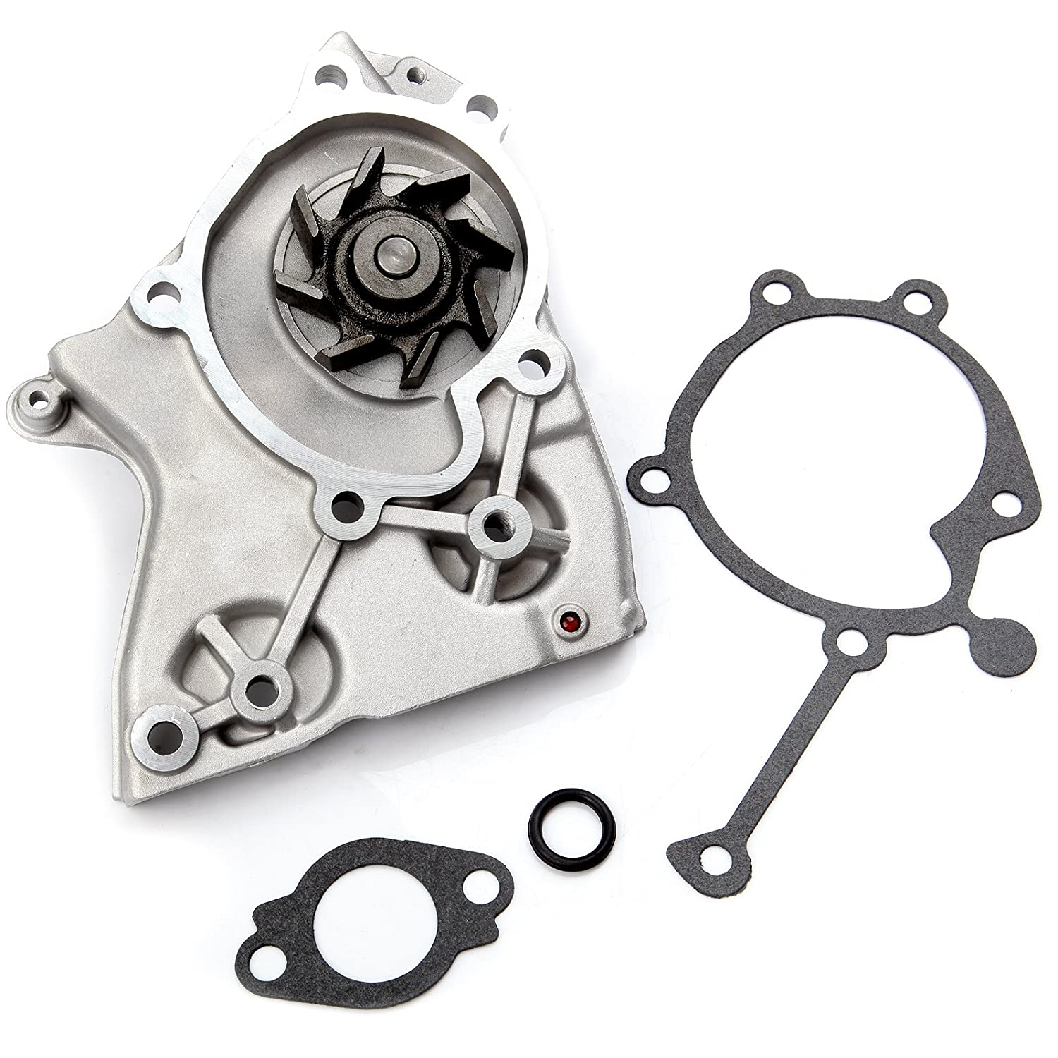 SCITOO Timing Belt Water Pump Gasket Tensioner Kit Fit 1995-2002 2.0L Kia Sportage DOHC 16V