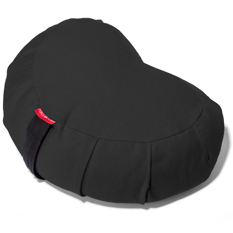 Yoga Meditation Buckwheat Bolster Pillow Cushion by Peace Yoga