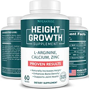 Bone Strenght - Plant Based - Calcium, Zinc - Made in USA