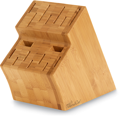 Bamboo Knife Block - Shop | The Pampered Chef