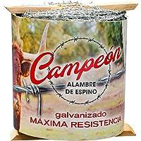 Alambre de espino Mallarte CAMPEON 4/13/8 galvanizado (250