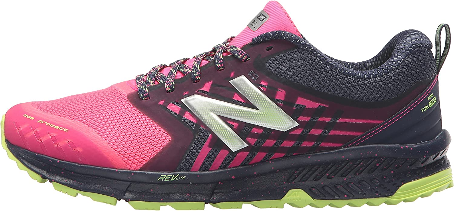 New Balance Womens Nitrel v1 FuelCore Trail Running Shoe
