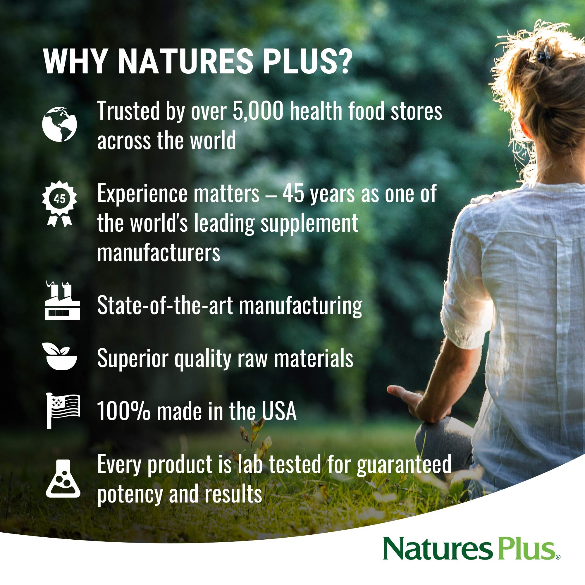 NaturesPlus SPIRU-TEIN Shake - Chocolate - 5 lbs, Spirulina Protein Powder - Plant Based Meal Replacement, Vitamins & Minerals For Energy - Vegetarian, Gluten-Free - 81 Servings by Nature's Plus (Image #5)
